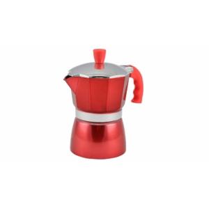Perfect Home Kotyogós kávéfőző piros 3 személyes 10059