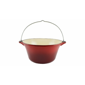 Perfect Home Öntöttvas bogrács Zománcozott  7.2 literes piros 12010