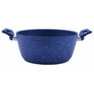Perfect Home Tapadásmentes bevonatos lábas kék márványos 24 cm 12573