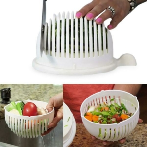 Perfect Home Salátaszeletelő-szűrő-tálaló 13208