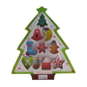 Perfect Home Sütikiszúró szett 10 db karácsonyi 13297