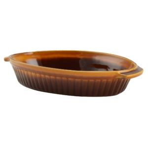 Perfect Home Agyag római sütőtál ovális mázas 1 literes 13703