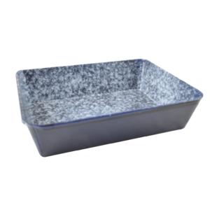 Zománcozott sütőtepsi 23 x18 cm 14281
