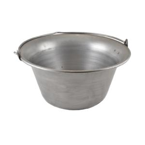 Vas bogrács 10 liter 14346