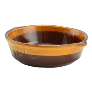 Perfect Home Agyag római sütőtál kerek mázas 1 literes 15510