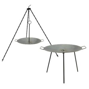 Perfect Home Grill tárcsa kétfunkciós, vas 60cm 12933