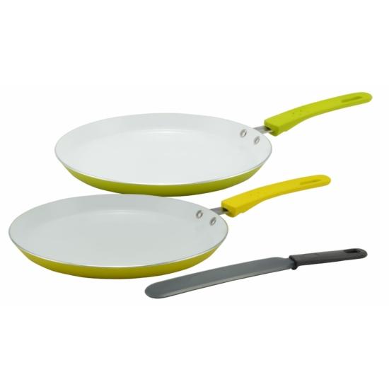 Perfect Home Kerámia bevonatos palacsintasütő 24cm + spatula 10245
