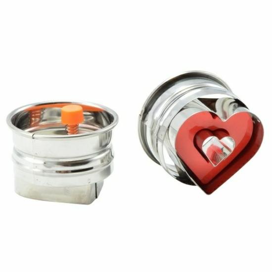 Perfect Home Linzerkiszúró rugós szív 10350