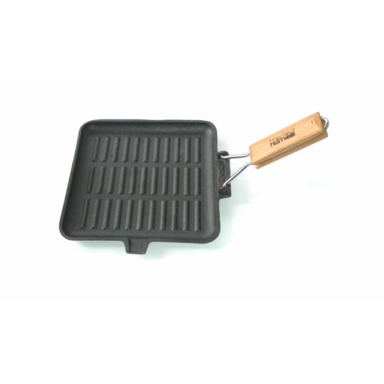 Perfect Home Öntöttvas grill serpenyő 24cm szögletes 10376