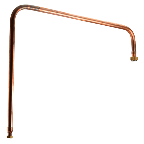 Perfect Home Pálinkafőző Összekötő rézcső 92 literes pálinkafőzőhöz 10558