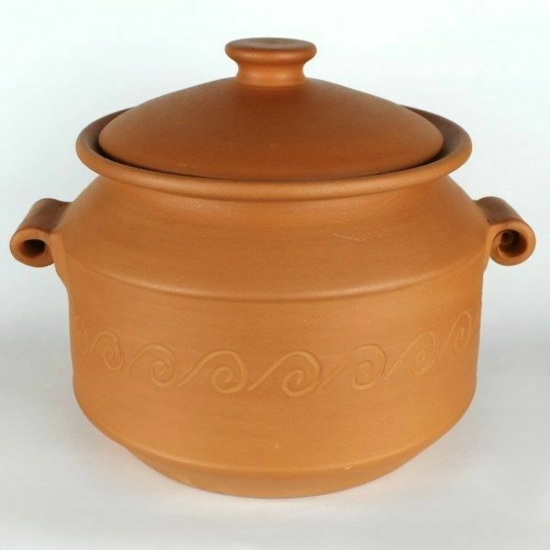 Római edény fedővel 24,5cm 10642
