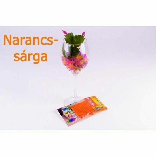 Dekor gél-növényi táptalaj narancssárga 10913