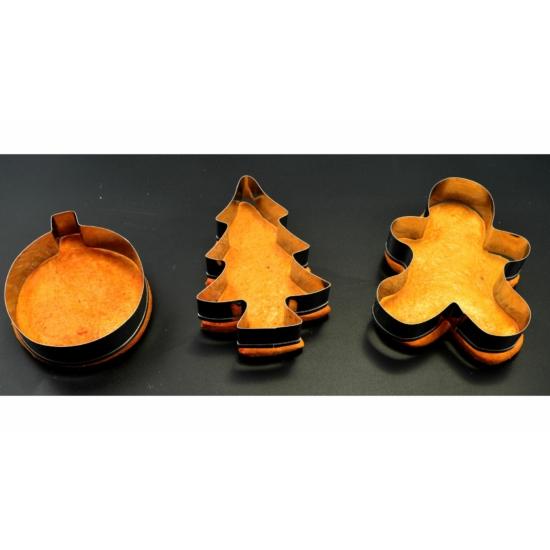 Perfect Home Karácsonyi sütikiszúró készlet 11183