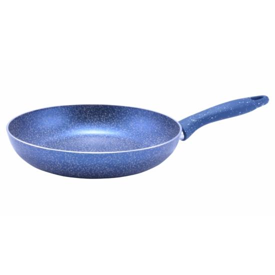 Perfect Home Serpenyő tapadásmentes bevonattal kék márványos 28 cm 12595