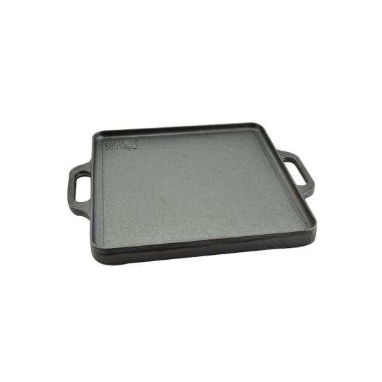 Perfect Home Öntöttvas grill lap 2 oldalas 32*32 cm 12970