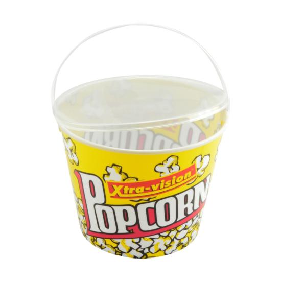 Perfect Home Popcorn tartó fedővel és füllel 21*16 cm 13020