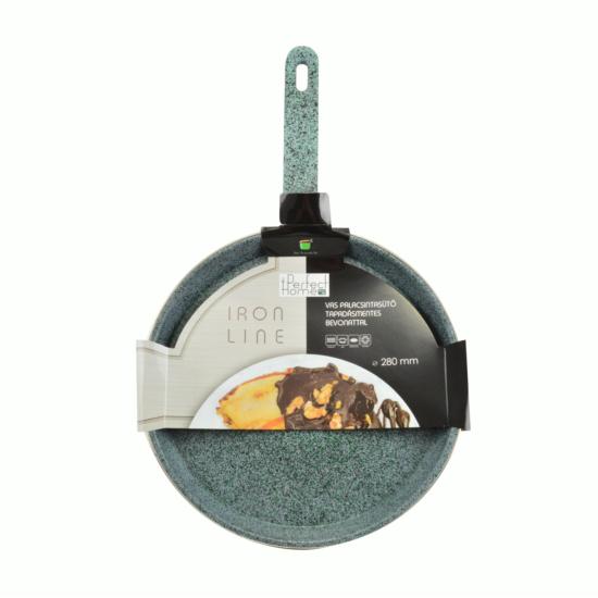 Perfect Home Iron line palacsintasütő tapadásmentes bevonattal 28 cm zöld 13106