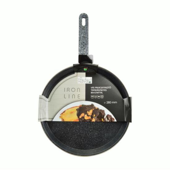 Perfect Home Iron line palacsintasütő tapadásmentes bevonattal 28 cm fekete 13181