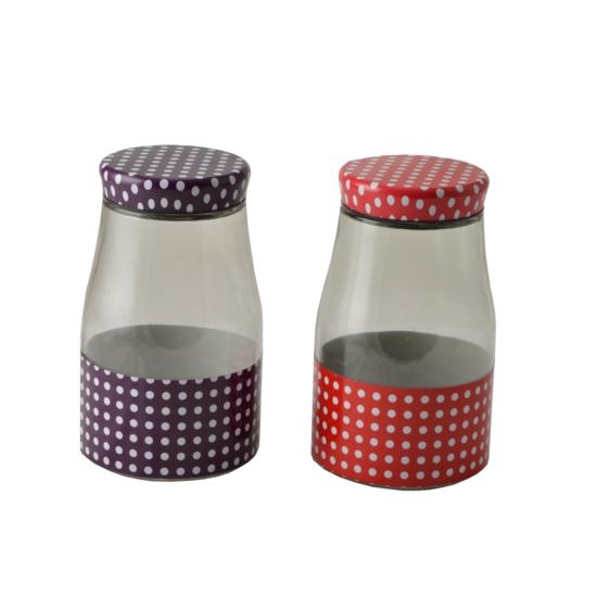 Perfect Home Tároló / befőttes üveg 11x19 cm 13886
