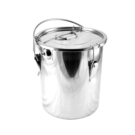 Perfect Home Rozsdamentes ételhordó badella csatos 25 liter 14027