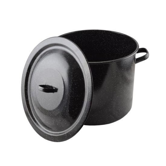 Zománcozott fazék fedővel 45 cm 14117