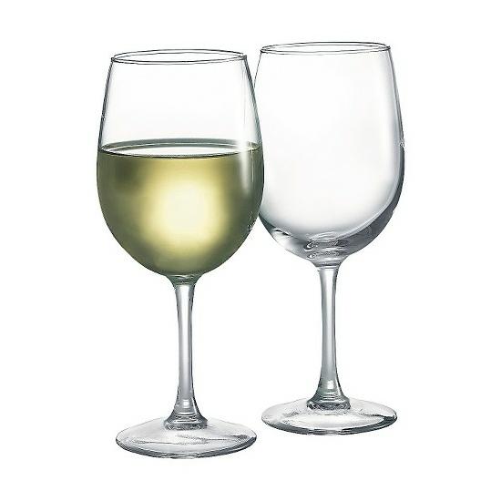 Luminarc boros pohár szett talpas 6 db 26 cl 14335
