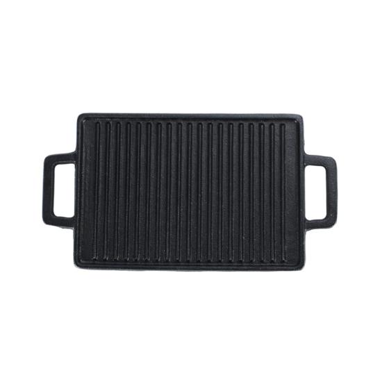 Perfect Home Öntöttvas grill lap mini 2 oldalas 14778