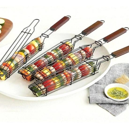 Perfect Home Grillező kosár saslik - kebab 14990
