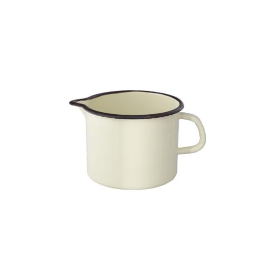 Zománcozott tejforraló/ kiöntő csőrös 14 cm 15092