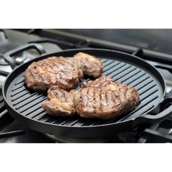 Perfect Home Grill lap kerek 2 füllel 15521