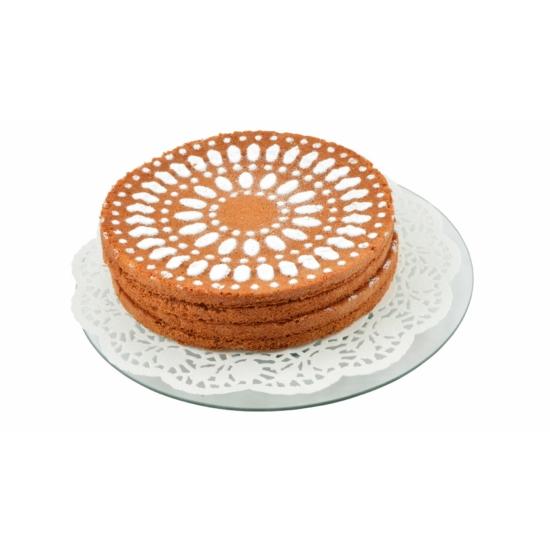 Perfect Home Forgatható tortatál üveg 34 cm 28376