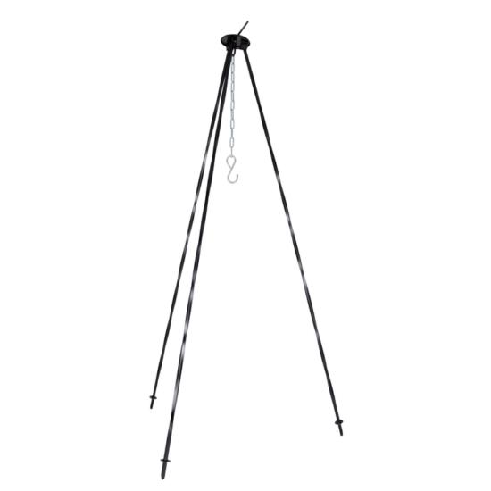 Perfect Home Bográcsállvány 1.2 méteres 8 mm vastag fekete 71052