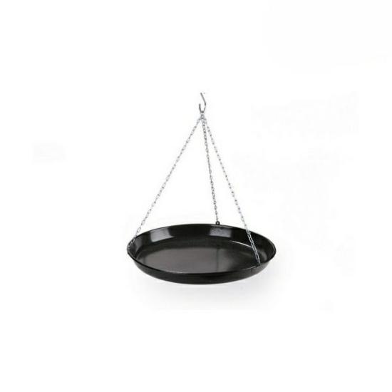 Perfect Home Zománcozott flekkensütő 42 cm fekete 71118