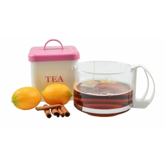 Perfect Home Üveg kávé-tea kiöntő 80006