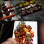 Kép 4/12 - Perfect Home Grillező kosár saslik - kebab 14990