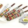 Kép 5/12 - Perfect Home Grillező kosár saslik - kebab 14990
