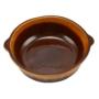 Kép 2/5 - Perfect Home Agyag római sütőtál kerek mázas 1 literes 15510