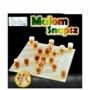 Kép 2/2 - Perfect Home Malom ivós játék üveg játéktáblával + 18 db pohárral 28334