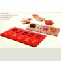 Kép 3/3 - Perfect Home Szilikon csoki nyalóka forma szám 3D 28373